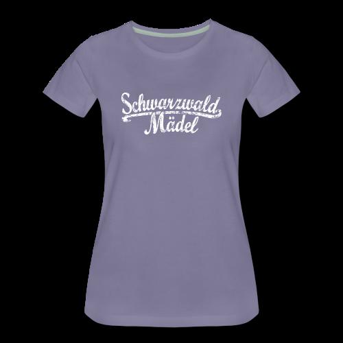 Schwarzwald Mädel Classic Vintage (Weiß) S-3XL T-Shirt - Frauen Premium T-Shirt