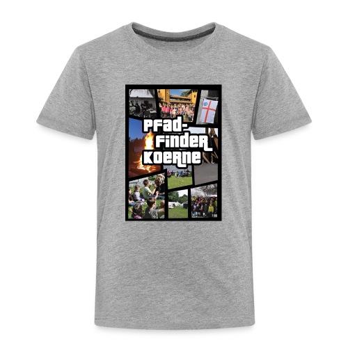 Zelten statt Zocken - Kids - Kinder Premium T-Shirt
