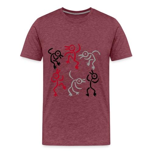 Camiseta danza - Camiseta premium hombre