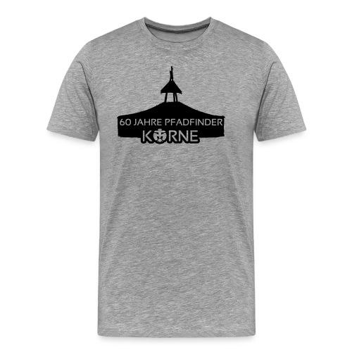 Jubiläumshirt - grau - Männer Premium T-Shirt