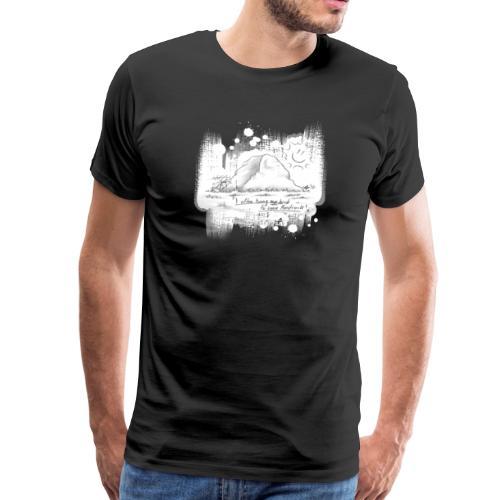 Listen to Hardrock - Männer Premium T-Shirt