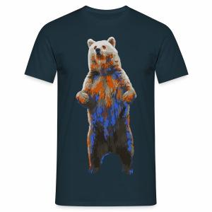 Ours coloré - T-shirt Homme