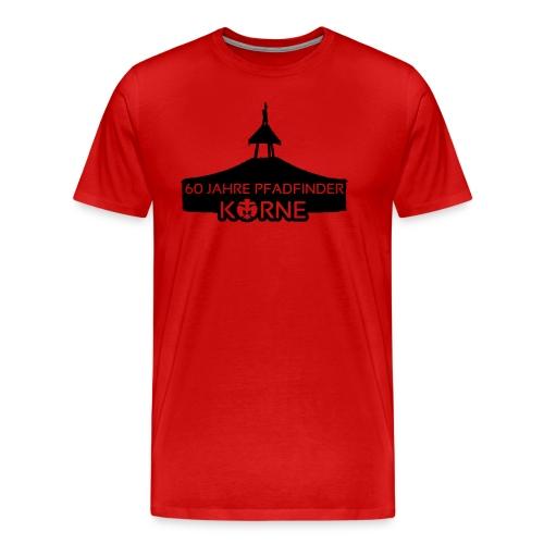 Jubiläumshirt - rot - Männer Premium T-Shirt