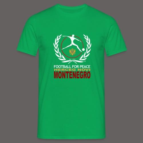 Football For Peace Montenegro T-Shirt - Men's T-Shirt