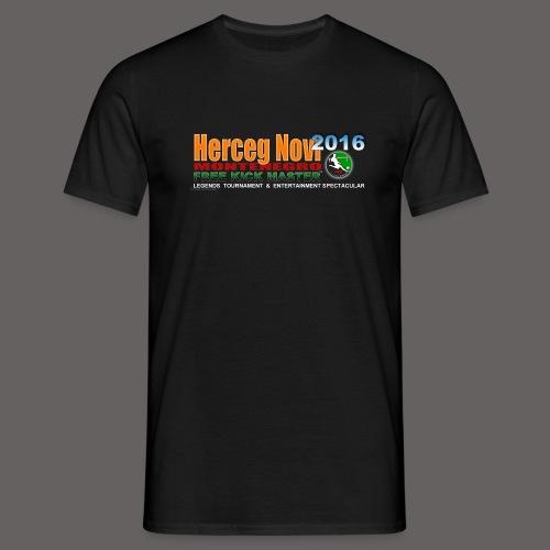 Official Free Kick Master Legends 2016 Montenegro T-Shirt - Men's T-Shirt