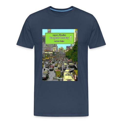 Männer Premium T-Shirt Bangkok Oneway, Navy - Männer Premium T-Shirt