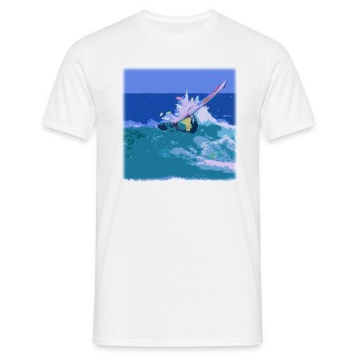 Wild windsurf   - Miesten t-paita