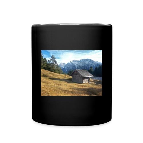 Bergwelt - Tasse einfarbig