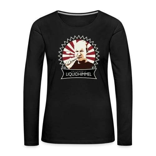 Damen Shirt langarm - Frauen Premium Langarmshirt