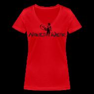 T-Shirts ~ Frauen T-Shirt mit V-Ausschnitt ~ surfguy