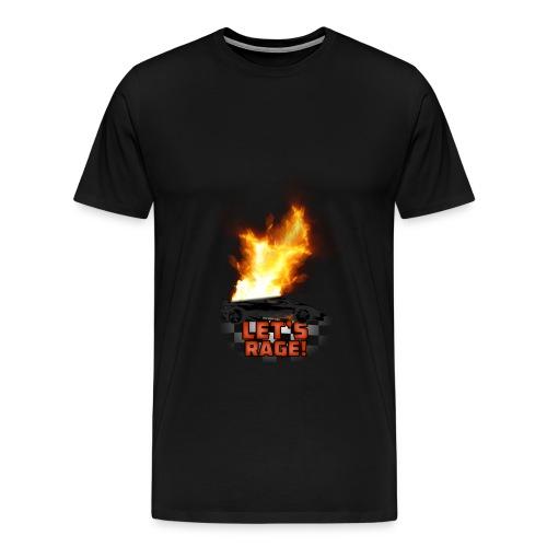 Let's Rage (Mens Shirt) - Men's Premium T-Shirt