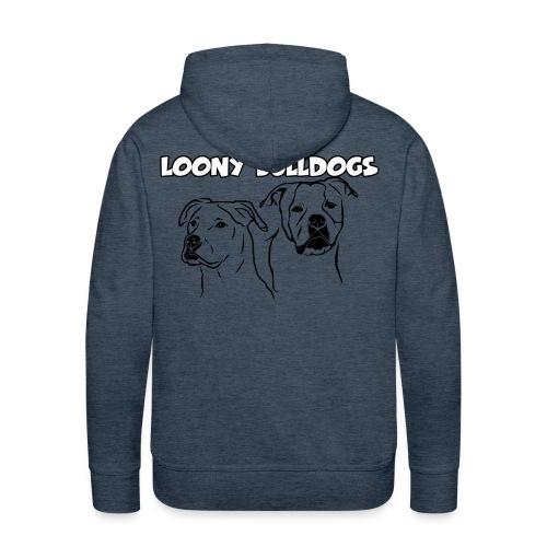 Loony Bulldogs Hoody  - Männer Premium Hoodie