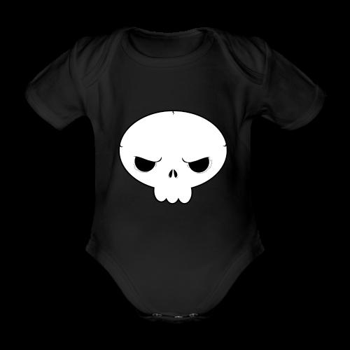 Skullie - Baby Body - Kortærmet babybody, økologisk bomuld
