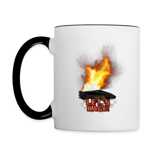 Interpixel Mug (IP Logo & Let's Rage) - Contrasting Mug