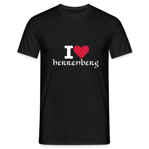 I love Herrenberg - Männer T-Shirt