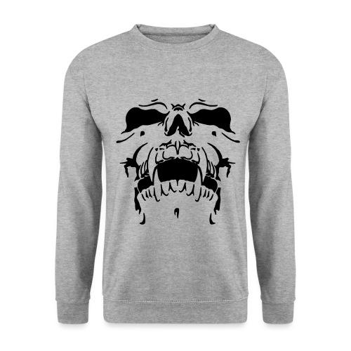 Sweat Cinza Caveira - Men's Sweatshirt
