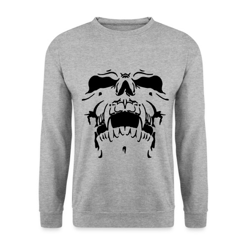 Sweat Cinza Caveira - Men's Sweatshirt