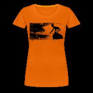 T-Shirts ~ Frauen Premium T-Shirt ~ wavesurfer
