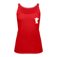 Tops ~ Frauen Premium Tank Top ~ logoshirt