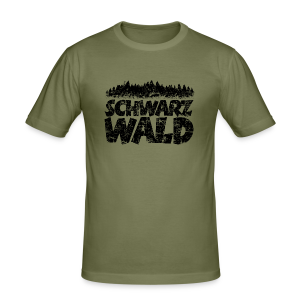 Schwarzwald  Slim Fit T-Shirt (Vintage) - Männer Slim Fit T-Shirt