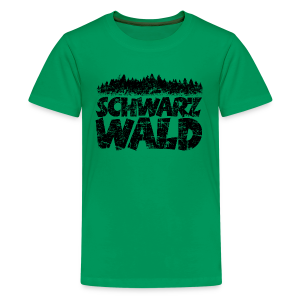 Schwarzwald  Teenager T-Shirt (Vintage) - Teenager Premium T-Shirt