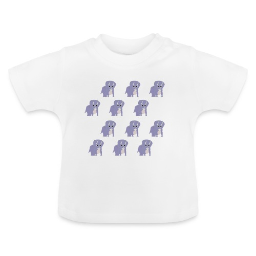 Triceratops pattern baby / kids t-shirt - Baby T-Shirt