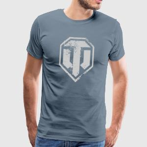 World of Tanks Used Logo Men T-Shirt - Koszulka męska Premium