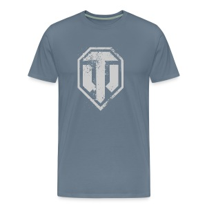 World of Tanks Used Logo Men T-Shirt - Mannen Premium T-shirt