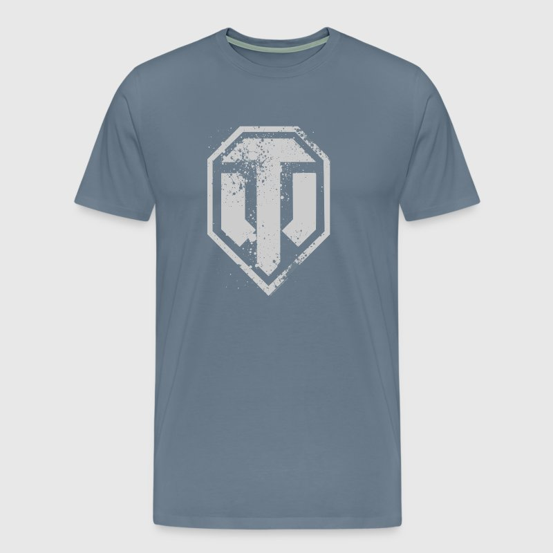 World of Tanks Used Logo Homme tee shirt - Camiseta premium hombre