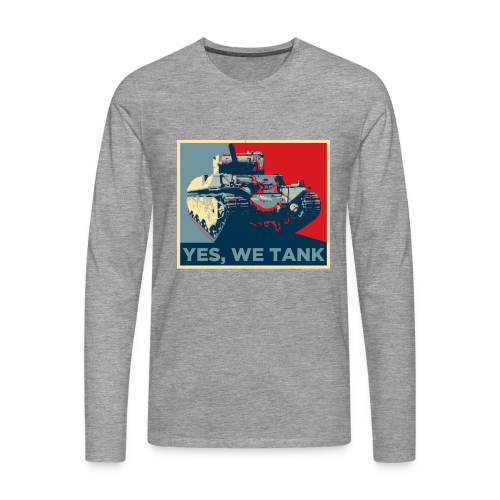 World of Tanks Yes, We Tank Männer Langarmshirt - Men's Premium Longsleeve Shirt