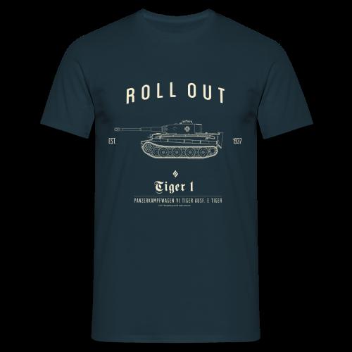 World of Tanks Roll Out Tiger  Männer T-Shirt - Men's T-Shirt