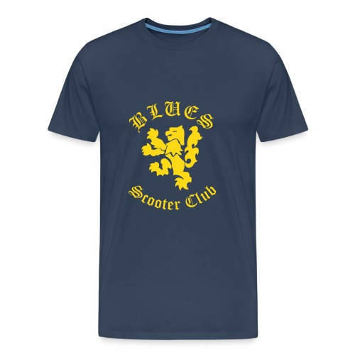 T-shirt male - Blues SC - Premium-T-shirt herr