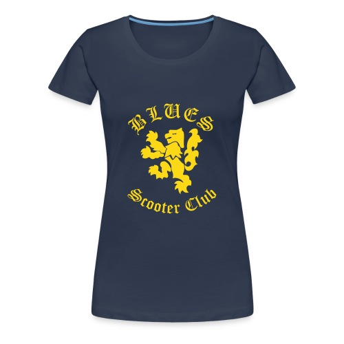 T-shirt female - Blues SC - Premium-T-shirt dam