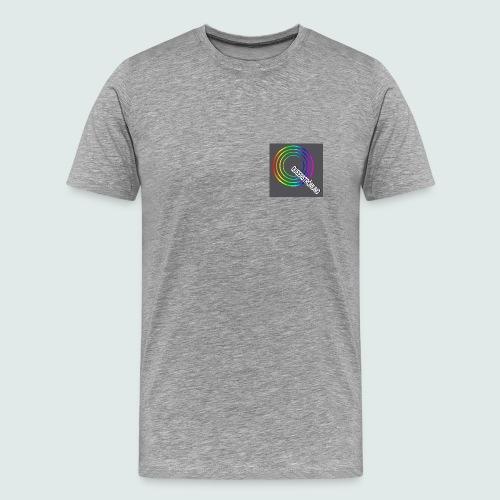 QS T-Shirt Signs , grau - Männer Premium T-Shirt