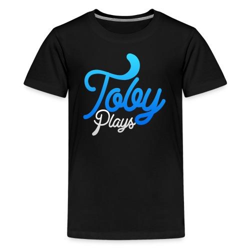 TobyPlays T-skjorte for tenåringer - Premium T-skjorte for tenåringer
