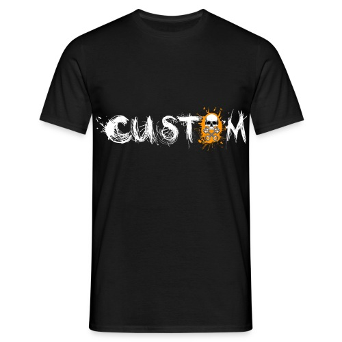 Skull & Pistons Garage Custom T-Shirt - Men's - Men's T-Shirt