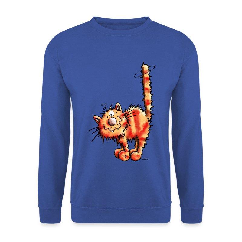 Felpa con rosso gatto spreadshirt for Felpa con marsupio porta gatto