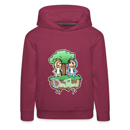 Kids Dino Island Jumper - Kids' Premium Hoodie