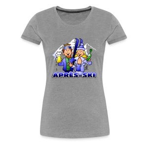 Après-ski party - Vrouwen Premium T-shirt