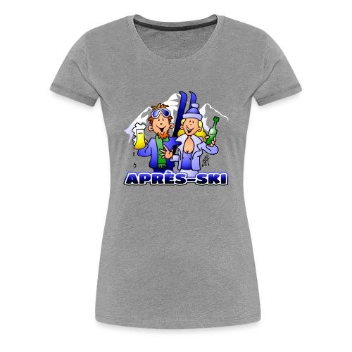 Après-Ski-Party - Frauen Premium T-Shirt