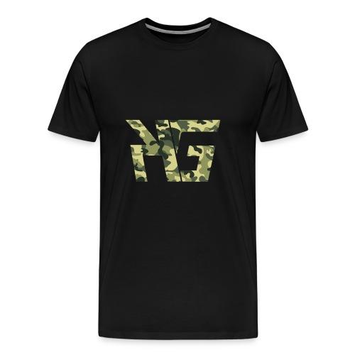 KG Forest Camo - Men's Premium T-Shirt