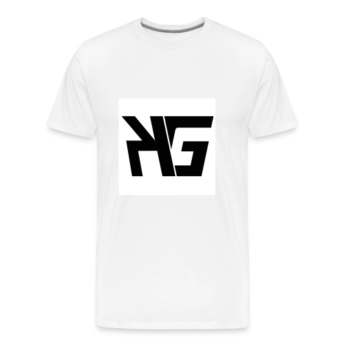 KG official team logo  - Men's Premium T-Shirt