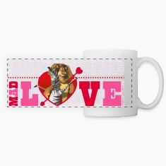 Madagascar Marty & Alex Saint Valentine's Day Mug