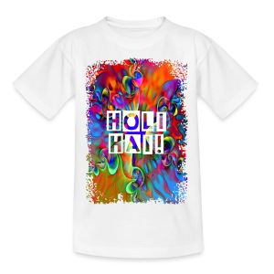 Psychedelic Holi Power Flower - Teenager T-Shirt