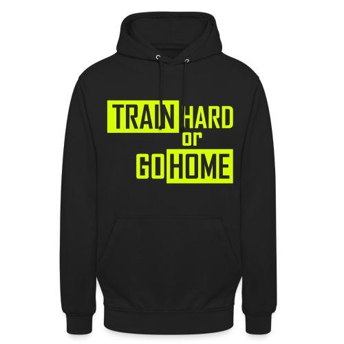 GYMBELLE Train Hard or Go Home Hoody - Unisex Hoodie