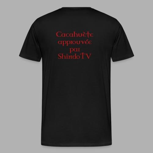 Tee-Shirt CacahuètoApprouvé Homme - T-shirt Premium Homme