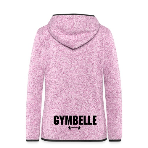 GYMBELLE Active Wear Jacket - Women's Hooded Fleece Jacket