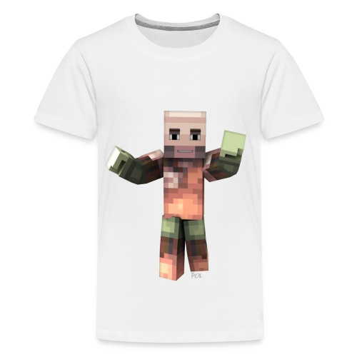 Camiseta premium adolescente SrPol Minecraft - Teenage Premium T-Shirt
