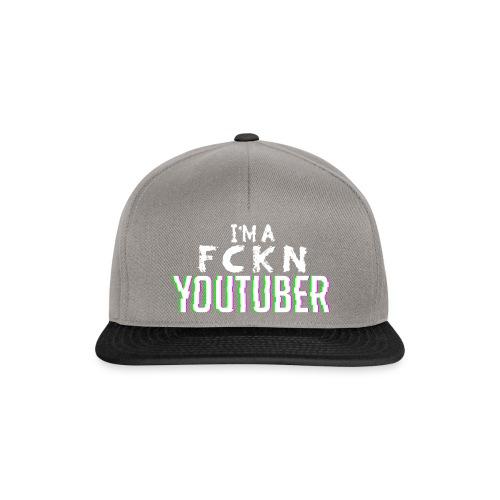 I'm a FCKN Youtuber - Snapback Cap