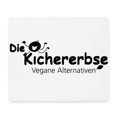 Mousepad, Logo Kichererbse - Mousepad (Querformat)